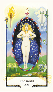 EWorld by Old Path Tarot