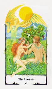 Lovers by Old Path Tarot
