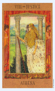Justice by Goddess Tarot