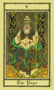 Pope by Scapini Tarot