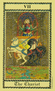 Chariot by Scapini Tarot